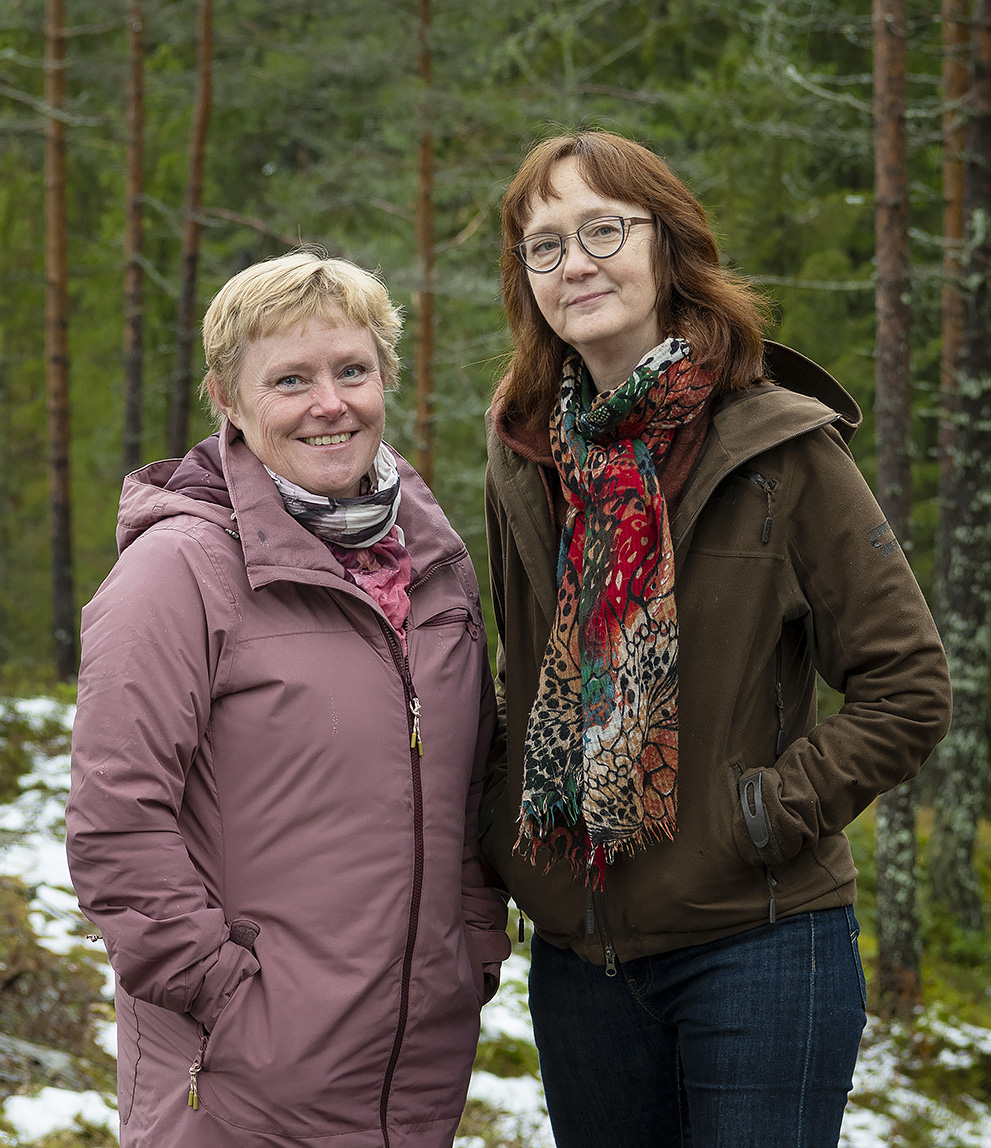 Ulla Nordlinder och Gunilla Guldbrand